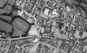 Vue aérienne du complexe sportif de Callac