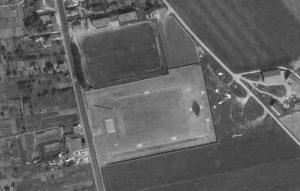 Vue aérienne du stade Pierre-Brisson