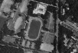 Vue aérienne du Stade de la Fansanderie