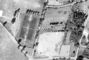 Vue aérienne du Stade des Varennes