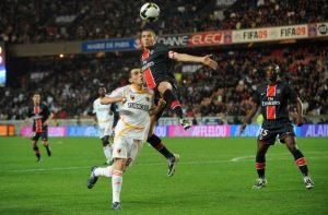 Sylvain Armand dans les airs...