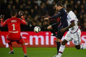L'ouverture du score de Zlatan Ibrahimovic