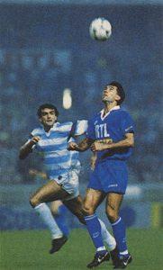 Zlatko Vujovic à la tombée du ballon...