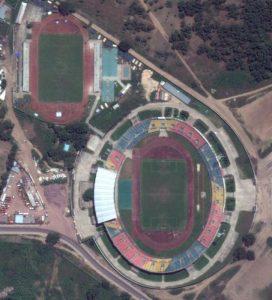 Vue aérienne du Stade de la Révolution