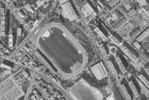 Vue aérienne du Stade Clerville