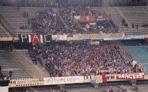 Les fans parisiens à Turin...