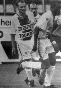 Vincent Guérin et George Weah