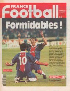 La une de France Football