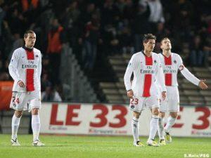 Grégory Bourillon, Jérémy Clément et Sylvain Armand impuissants… (S. Reix)