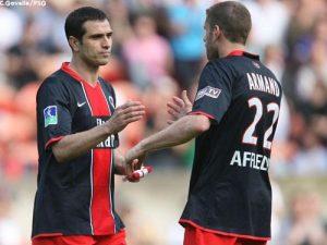 Pedro Pauleta et Sylvain Armand (Ch. Gavelle)