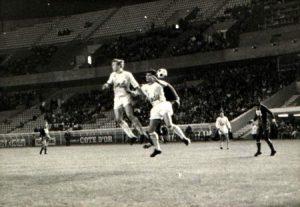 Le jeune Troyen Mahut (archives personnelles du joueur via Foot Nostalgie)