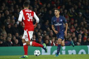Photo Ch. Gavelle, psg.fr (image en taille et qualité d'origine: http://www.psg.fr/fr/Actus/105003/Galeries-Photos#!/fr/2016/3785/65323/match/arsenal-2-2-paris/arsenal-paris-2-2)