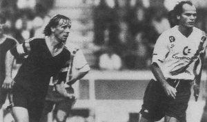 Bruno Germain et Philippe Mahut (HAC Foot Archives)