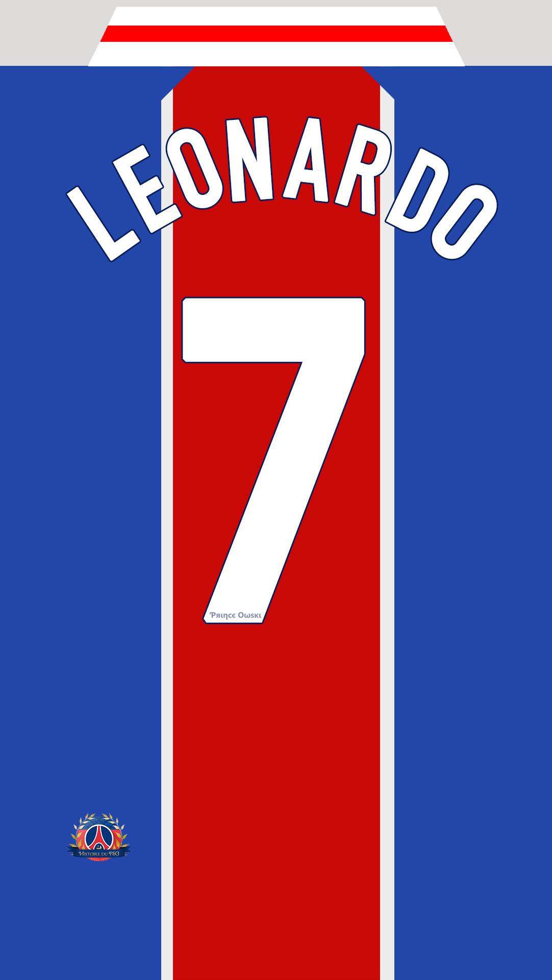 Fond-d'ecran-maillot-PSG-Leonardo-Dom