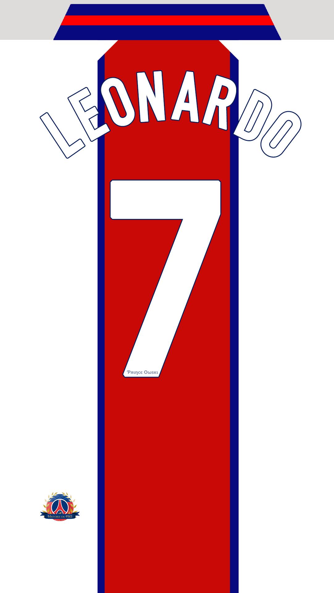 Fond-d'ecran-maillot-PSG-Leonardo-Ext