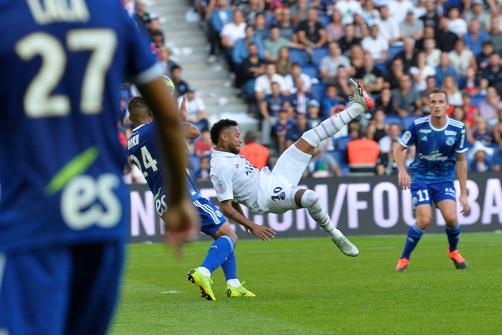 PSG – Strasbourg 1-0, 14/09/19, Ligue 1 19-20