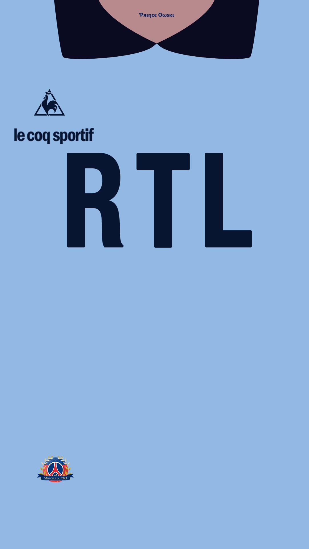 Fond d'ecran maillot PSG gardien pantellic