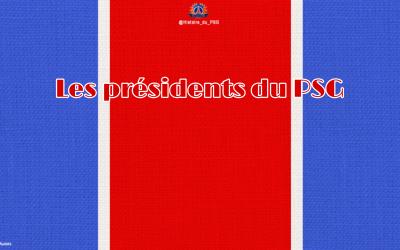 Les présidents du PSG