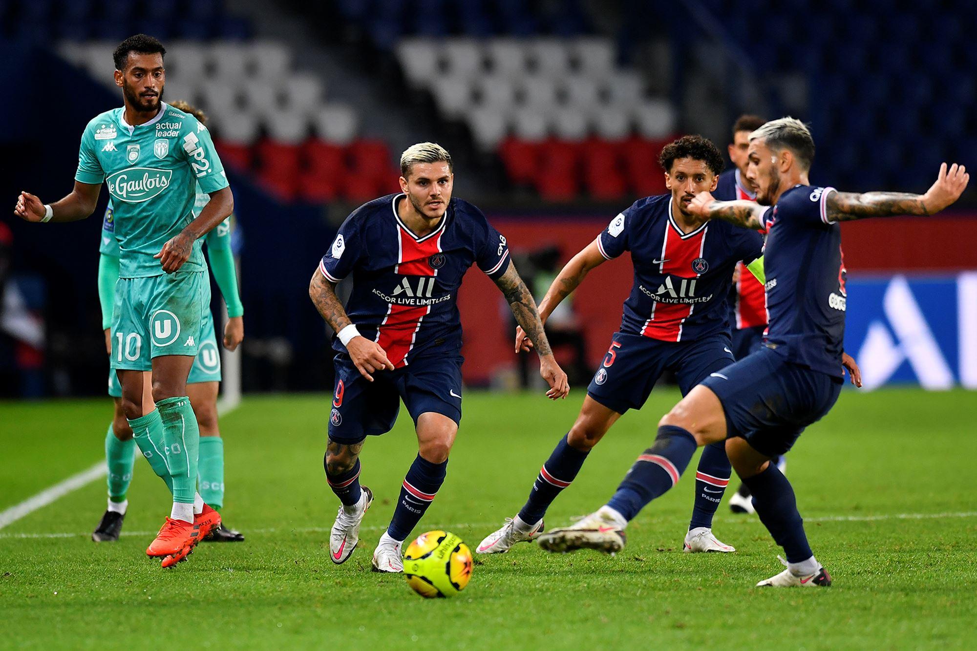 2021_PSG_Angers_IcardiParedesMarquinhosPSG - Histoire du #PSG