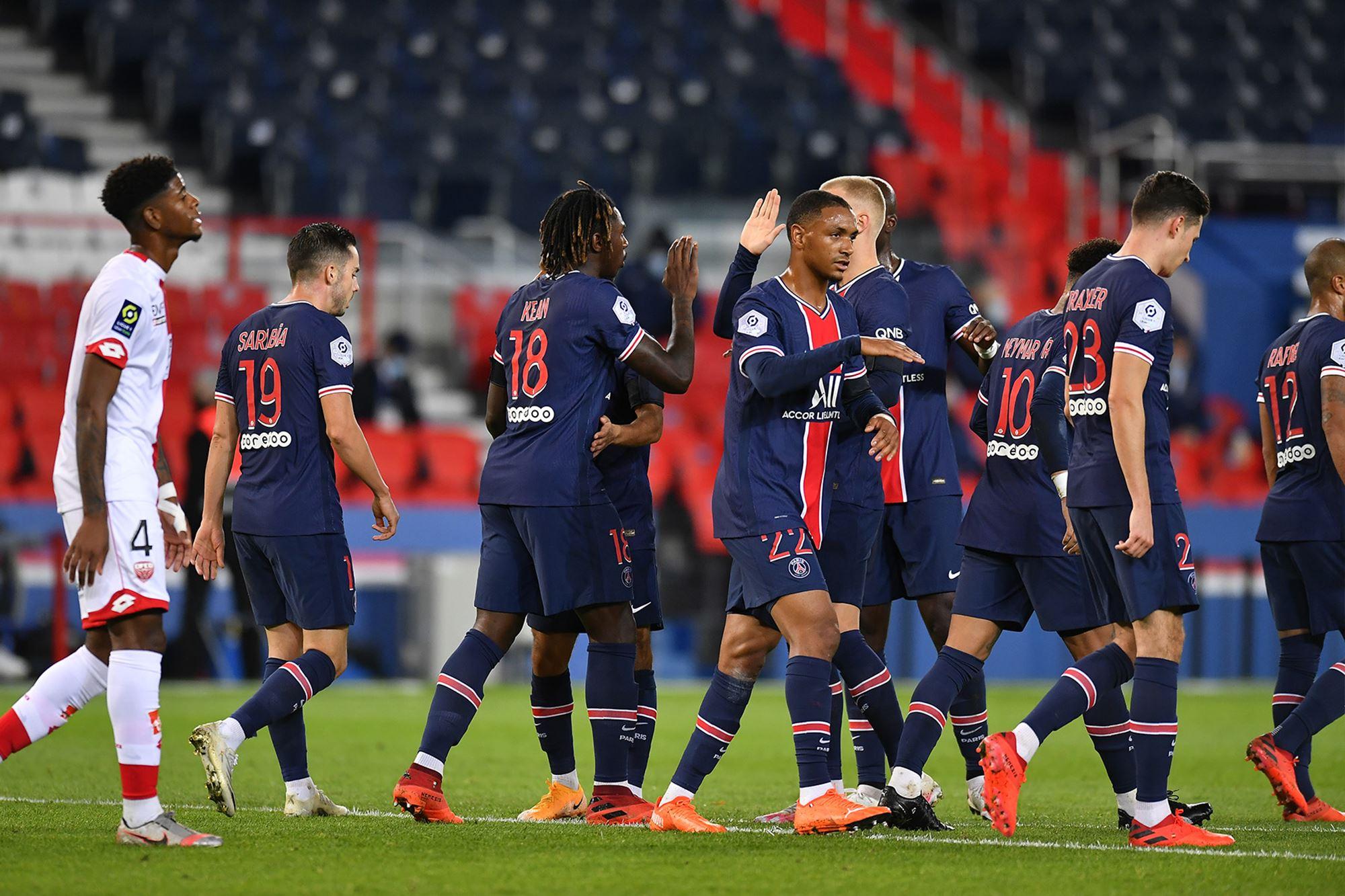 2021_PSG_Dijon_joiePSG - Histoire du #PSG